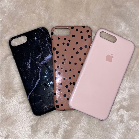 Bundle of 3 iPhone cases